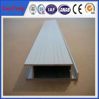 Quality extruded aluminum rail price, aluminium profiles frame with painting(powder coating) for sale