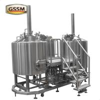China Electric Heated Micro Brewing Equipment , 10HL Brewhouse For Constant Temp on sale