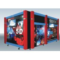 Quality Home Hydraulic / Electric Moiton 5D Theater / 7d Cinema Simulator for sale