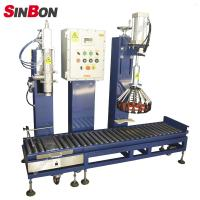 China semi-auto aseptic drum filling machine oil drum filling machine on sale