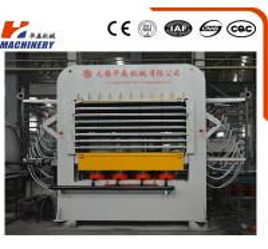 Multifunction Multilayer Press Door Skin Making Press Machine 4x8 2400T Woodworking
