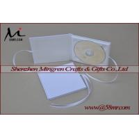Quality Single Cotton Fabric Linen DVD CD Case , CD DVD Holder , CD DVD Cover , CD DVD Album , CD DVD Folio for sale