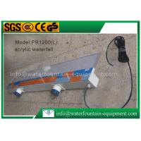 Buy Plastic Waterfall Blade Water Fountain Equipment Various Sizes Outdoor Decoration at wholesale prices