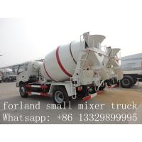 Quality forland LHD 4*2 3cbm-4cbm concrete mixer trucks for sale for sale