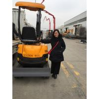mini excavator 800 kg Compact minisize hot sale in market with bucket trailers steel track wheel attachments for sale