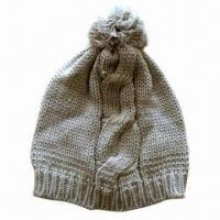 Buy cheap Fashionable winter hat with warmer and softer from wholesalers