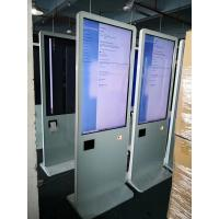 "Quality All In One Pc Lcd Touch Screen Kiosk 43"" With Thermal Printer / Qr Code Scanner for sale"