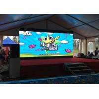 Stage Movies Background Led Display Video Wall P3 111111 Dots / Sqm Pixel Density for sale