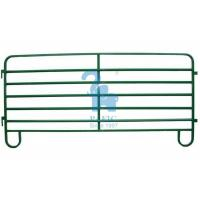 Quality Temporary Metal Corral Fence Profile Powder Coated Metal Pipe Animal Fencing Panels for sale