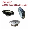 7W8W9W10W AR111 ES111 GU10 Base LED Bulb Lights Spotlight Lamp Dimmable replace 50W75W Halogen Reflector for sale