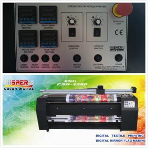 China CSR2200 Custom Made Digital Textile Printing Machine Pigment Ink on sale