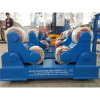 Buy Standard 10T Pressure Vessel Vessel Turning Rolls / Pipe Rotators For Welding at wholesale prices
