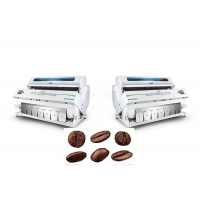 Quality Cloud Internet LED Automatic Coffee Color Sorting Machine for sale