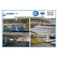 Quality Corrugated Parent Board / Roll Handling Equipment Wooden Case Package CE Certification for sale