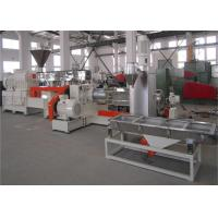 Quality 600 RPM Torque Co Rotating Twin Screw Extruder For Plastic Granules Making for sale