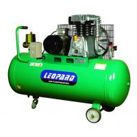 Quality 4HP Belt Driven Piston Air Compressor , Reciprocating Industrial Air Compressor 200L for sale