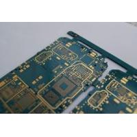 Quality 1 oz copper thickness cell phone pcb board 2-layers FR-4 base , Min. Line 0.12 mm for sale