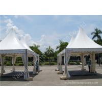 Quality Out door Car Exhibition Clear Span Fabric Buildings White PVC Textile Cover for sale