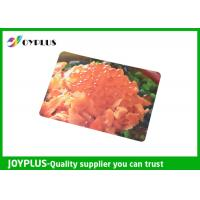 Quality Colorful Printed Dining Table Placemats Anti Slip OEM / ODM Available 45X30CM for sale
