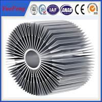 Quality Hot sale aluminium led radiator profile, OEM style sunflower led aluminum profiles for sale