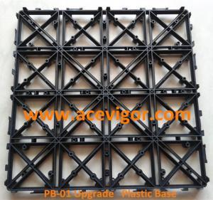 Quality PB-01 Upgrade Interlocking Plastic Base for decking tiles for sale