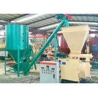 China Hot Sale Small Capacity 400-600Kg/H Complete Animal Feed Making Line on sale