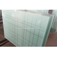 6.38mm - 40.3mm CE and ISO9001 Curtain Wall Tempered Laminated Glass For Home for sale