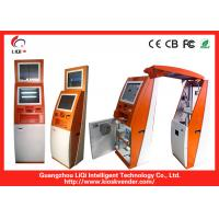 """Quality 19"""" Information Bill Payment Kiosk Freestanding / Bill Payment Service for sale"""