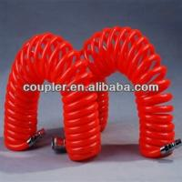 Quality Red PU AIR Coil HOSE with Japan type connectors for sale