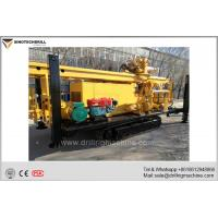 China Crawler  Mounted Medium-sized Borehole Drilling Equipment 400m Depth on sale