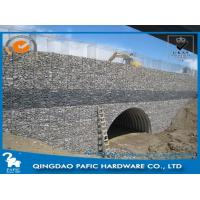 Buy Antirust Hot-Dip Galvanized Steel Gabion Baskets Landscape Building at wholesale prices