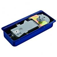 China Floor Hinge T-220B, color:black or blue, casting iron,  weight capacity 90kgs, on sale