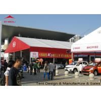 Buy cheap Flame Retardant Clear Marquee Exhibition Tent / Outdoor Trade Show Tents from wholesalers