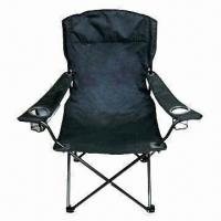Quality Folding Chair in Various Colors, with 16 x 0.9mm Steel Tube, Arc Headrest and PVC Backing for sale