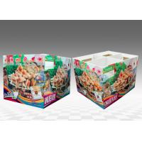 Buy Big Cookies Cardboard Pallet Display With Attractive Artwork at wholesale prices