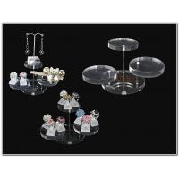Quality Clear Brilliant Acrylic Jewellery Display Stands For Earring Display for sale