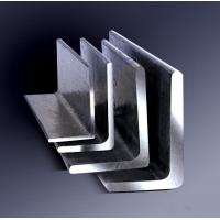 Quality Galvanized Steel Angle , Aluminum Angle Bar Low Carbon Hardened Steel for sale