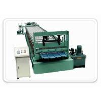 Quality Glazed Tile Forming Machine for sale