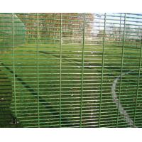 Quality Zinc Aluminium coating High Security Fencing 358 Security Mesh / galvanised finish or powder coated 358 heavy guage weld for sale
