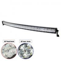 "Quality 54"" 300W Double-row Curved 6000K Spot/ Flood/ Combo Car Lightbar for Off-road Truck ATV Vehicle for sale"