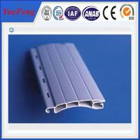 Quality European designed Aluminum extrusion profile slat for Roller/Rolling shutter doors for sale
