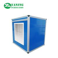 Low Noise Clean Room Ventilation Fresh Air Handling Unit With Horizontal Or Vertical Flow for sale