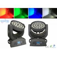 Buy LED 36pcs 18Watt Zoom Wash Beam Moving head / 4in1 RGBW / 5in1 / 6in1 optics at wholesale prices