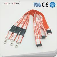 Quality High quality Personalized Polyester Custom sublimation ID Key Lanyards for sale