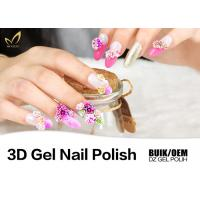 Quality Organic Beautiful Nail Designs Gel Polish UV LED Lamp Carved Painting Modeling for sale