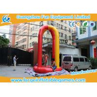 Quality 5mH Bungee Inflatable Sport Games Jumping Bouncy Place With CE Approval for sale