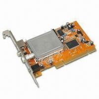 Quality TV Tuner Card with Noise Reduction Function and Full Motion Video Capture up to 30fps for sale