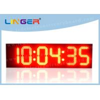 Quality Iron Frame LED Countdown Timer / Large Display Digital Timer With Loud Siren for sale