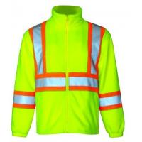Quality winter reflective safety jacket2016 Europe style high visibility traffic warning clothing for sale