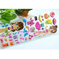 Quality 3D Sponge Foam Custom Puffy Stickers Tear Resistant For Great Party Favors Gift for sale